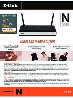 wireless N 300 rOUTer - Cox Communications