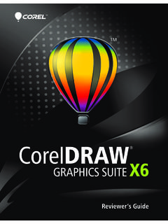 CorelDRAW Graphics Suite X6 Reviewer's Guide