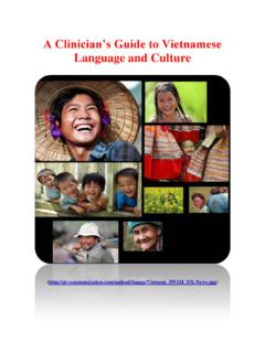 A Clinician's Guide to Vietnamese Language and Culture