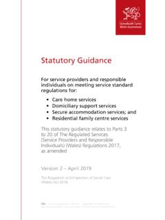 Statutory Guidance for service providers - GOV.WALES