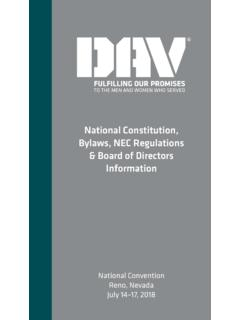 National Constitution, Bylaws, NEC Regulations & Board of ...