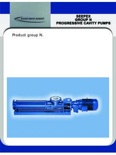 Here is your conveying solution: Product group N.