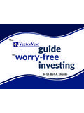 The guide to worry-free investing - VectorVest