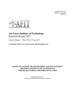 2015 Research Report (final) - NPS Publications