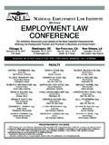 NatioNal EmploymENt law iNstitutE EMPLOYMENT …