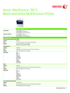 Xerox WorkCentre 3615 Black-and-white Multifunction Printer