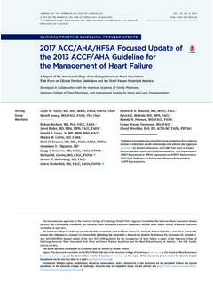 2017 ACC/AHA/HFSA Focused Update of the 2013 …
