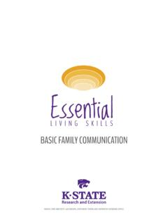 BASIC FAMILY COMMUNICATION - KSRE Bookstore