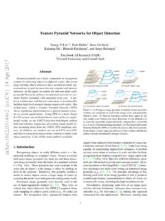 Feature Pyramid Networks for Object Detection - arXiv