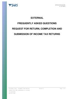 AS-IT-67-FAQ1 - Request for Return, completion …