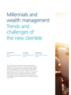 Millennials and wealth management - Inside Article  …