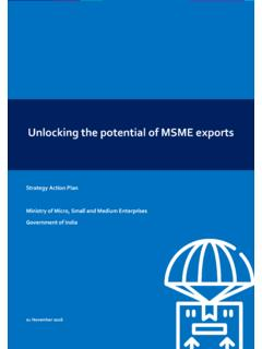 Unlocking the potential of MSME exports - dcmsme.gov.in