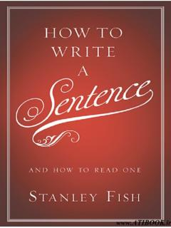 How to Write a Sentence - Illinois State University