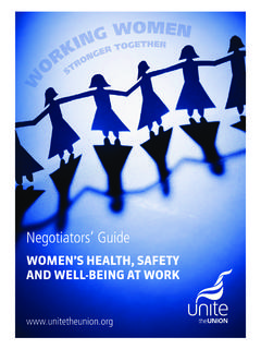 WOMEN'S HEALTH, SAFETY AND WELL-BEING AT …