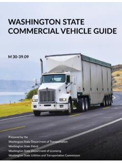 Washington State Commercial Vehicle Guide M 30-39