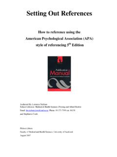 Setting Out References - acrn-journals.eu