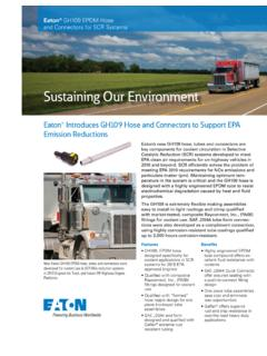 Sustaining Our Environment - Eaton