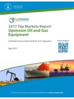 2017 Top Markets Report Upstream Oil and Gas Equipment