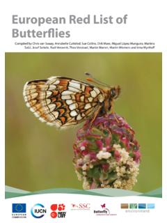 European Red List of Butterflies - European Commission