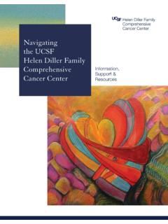 Navigating the UCSF Helen Diller Family Comprehensive ...