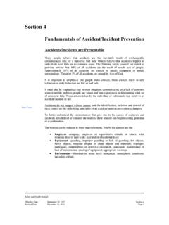 Fundamentals of Accident/Incident Prevention - OCFL