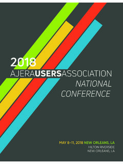 AJERAUSERSASSOCIATION NATIONAL CONFERENCE