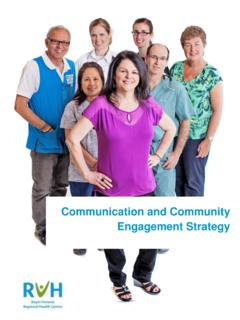 Communication and Community Engagement Strategy