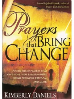 Prayers That Bring Change - howtopray.today