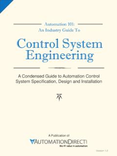 Automation 101: An Industry Guide To Control System ...