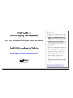 Brief Guide to Recordkeeping Requirements