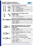 Quicklub Lubrication Systems Fittings, Adapters …