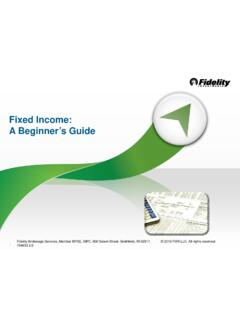 Fixed Income: A Beginner's Guide - Fidelity Investments