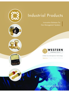Industrial Products - Western Enterprises