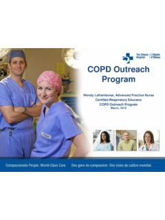 COPD Outreach Program - RGPEO