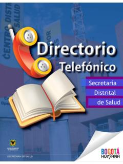 Secretaría Distrital - saludcapital.gov.co