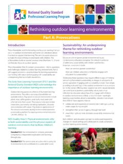 Rethinking outdoor learning environments