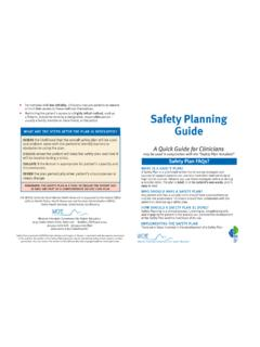 Safety Planning Guide - sprc.org