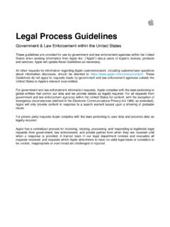 Legal Process Guidelines - apple.com
