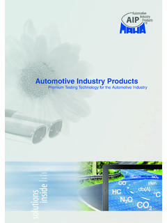 Automotive Industry Products - Prime ONE Contracting