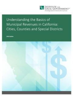 Understanding the Basics of Municipal Revenues in ...