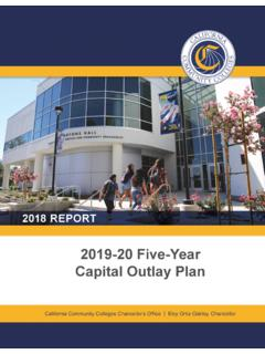 2019-20 Five-Year Capital Outlay Plan
