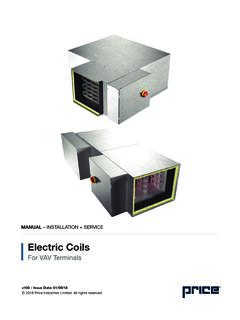 Electric Coils - Price Industries