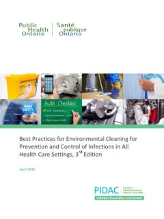 Health Care Settings , 3rd Edition