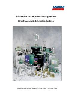 Installation and Troubleshooting Manual - Ormac