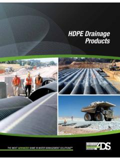 HDPE Drainage Products - ads-pipe.com