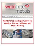 Maintenance and Repair Alloys for Welding, …