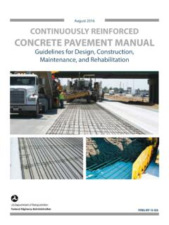 August 2016 CONTINUOUSLY REINFORCED CONCRETE …