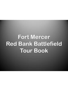 Fort Mercer Red Bank Battlefield Tour Book