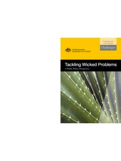 Tackling Wicked Problems - Enabling Change