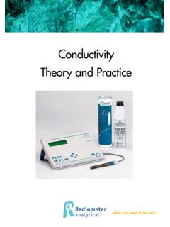 Conductivity Theory and Practice - analytical-chemistry.uoc.gr
